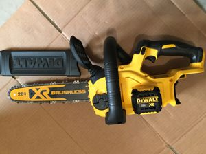 New DeWalt Brushless Xr Chainsaw For Sale for Sale in Mukilteo, WA