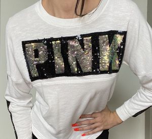 Victoria's Secret PINK sequin bling long sleeve for Sale in Minot, ND