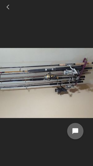 Misc. Fishing rod and reels for Sale in Cayce, SC