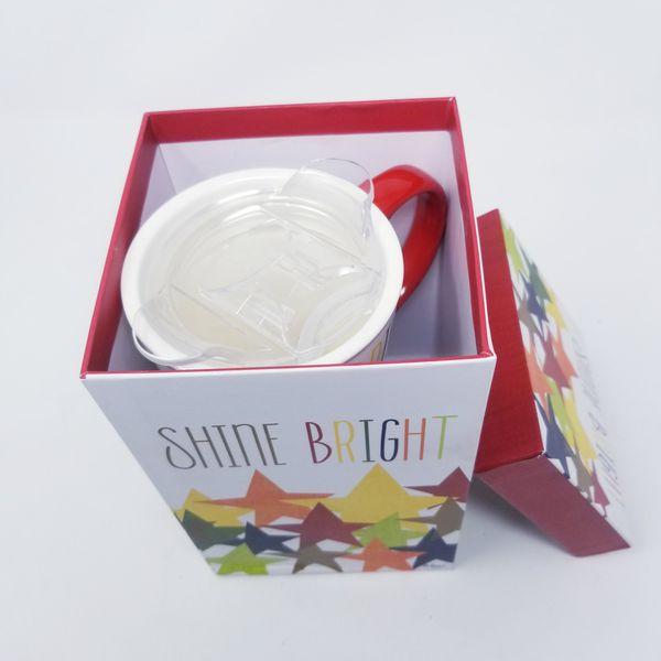 New Cypress Ceramic Coffee Latte Travel 17oz Mug