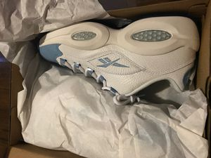 Reebok Question Low Patent Toe Carolina Blue for Sale in Columbus, OH