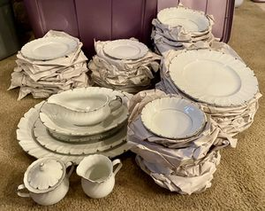 Vintage Harmony House Heirloom Fine China [68 PCS] Setting for 12 + Serving Dishes for Sale in Rockledge, FL