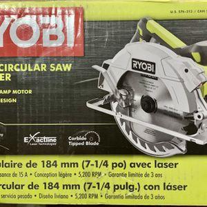 New Ryobi Circular Saw for Sale in Poinciana, FL