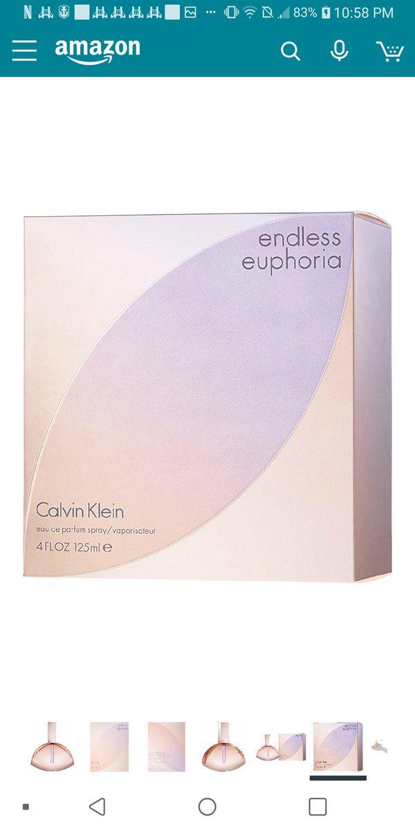 CALVIN KLEIN ENDLESS EUPHORIA 4OZ EAU DE PERFUME SPRAY