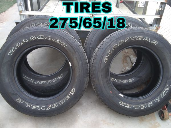NEW TIRES 275//65//18