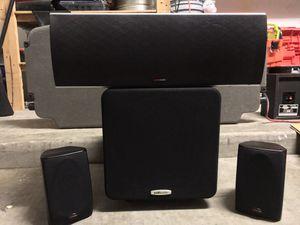👏🔈🎶POLK AUDIO SURROUND SOUND SPEAKERS🎥🎥🔊🔊 for Sale in San Tan Valley, AZ