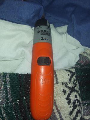 Orange. .2.4v. Battery powerdrill for Sale in Walker, LA