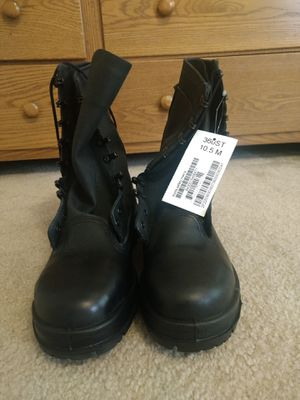 NEW U.S. Navy Working Uniform Boots Men's 10.5 for Sale in Odenton, MD