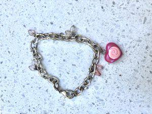 Heart charm chain bracelet for Sale in Manassas, VA