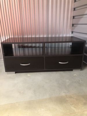 Black TV Stand with Drawers for Sale in Spring Valley, CA