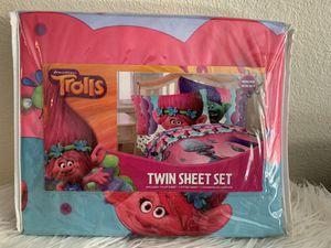 Dream works Troll Twin Sheet Set for Sale in Bostonia, CA