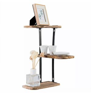 Wall Corner Shelves 3-Tier Rustic Wood Floating Multi-purpose Home Shelves for Sale in Phoenix, AZ