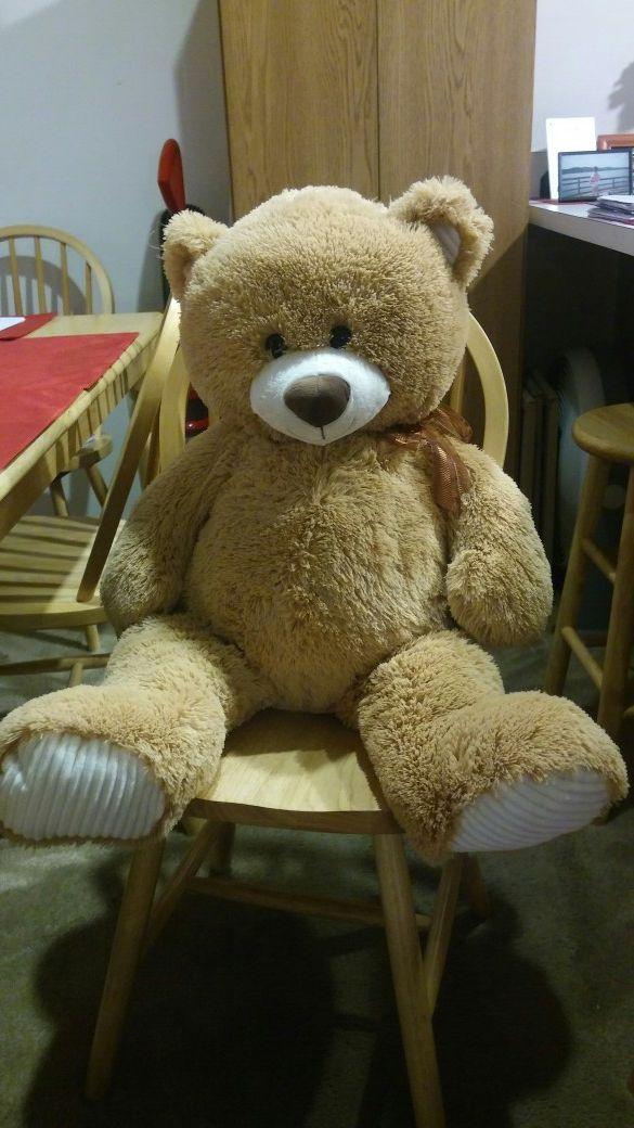 Large stuffed animal bear
