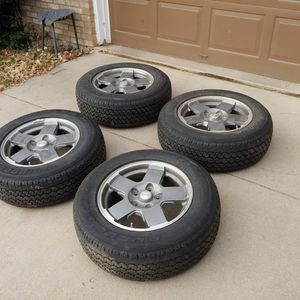 Jeep Commander/Grand Cherokee Wheels and Tires for Sale in Louisville, CO