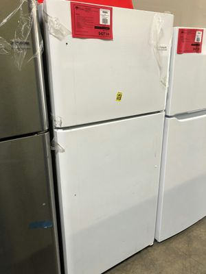 Brand New Frigidaire White Top Mount Refrigerator 1 Year Manufacturer Warranty Included for Sale in Gilbert, AZ