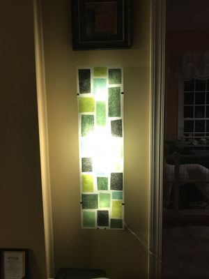 green wall light for Sale in Fairfax, VA
