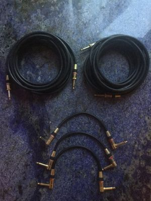 original MONSTER Cables performance 500 for guitar\bass for Sale in San Francisco, CA