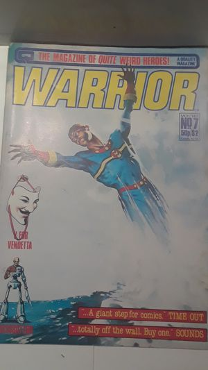 Warrior magazine no#7 for Sale in Brooklyn, NY