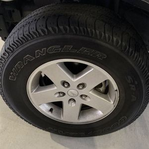 "Set Of 4 17"" Factory Jeep Rubicon Wheels With Tires for Sale in Austin, TX"
