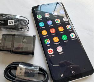 Samsung Galaxy S8+ Plus , Unlocked for All Company Carrier ,  Excellent Condition like New for Sale in Springfield, VA