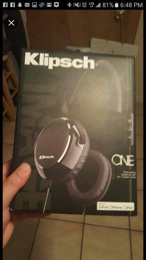 Klipsch headphones for Sale in Providence, RI