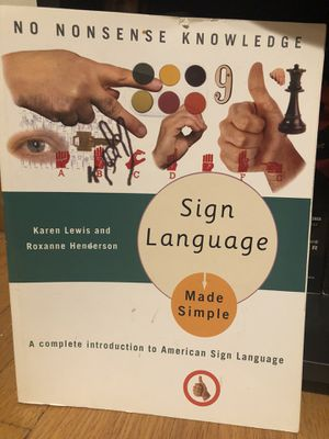 Learn Sign Language for Sale in Chicago, IL