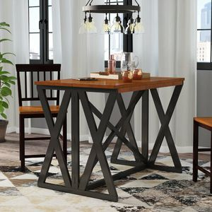 Tesch Extendable Solid Wood Dining Table for Sale in Fort Wayne, IN