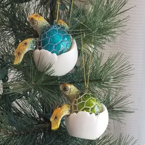 """Brand New! 3 1/2"""" Pair of Sea Turtle Hatchling Ornaments for Sale in Miami, FL"""