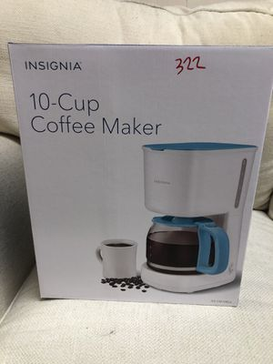 INSIGNIA 10 CUP COFFEE MAKER for Sale in Gulfport, FL
