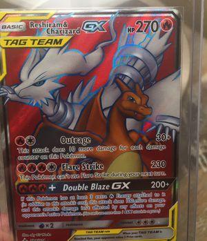 Reshiram Charizard GX Pokemon 194/214 Full Art for Sale in South Gate, CA