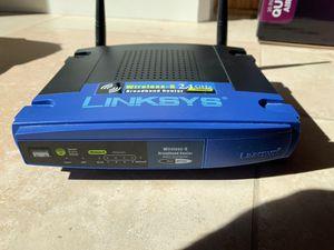 Linksys WRT54G Wireless G broadband router for Sale in Scottsdale, AZ