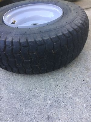 Riding mower tire and wheel for Sale in Nipomo, CA