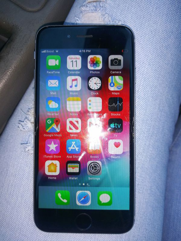 Unlocked Iphone 6s with charger