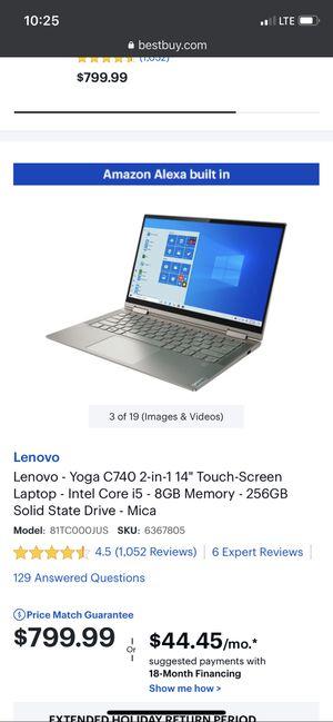 Lenovo YOGA C740 for Sale in Biscayne Park, FL