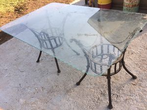 Glass Table for Sale in Fresno, CA