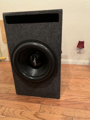"""Skar Audio 15"""" with amp for Sale in Hutto, TX"""