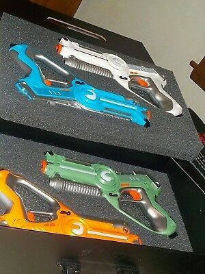 Dynasty Toys Laser Tag Set Extreme Pack 4 Player Tag for Sale in Seattle, WA