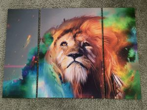 Lion canvas painting for Sale in Miami, FL