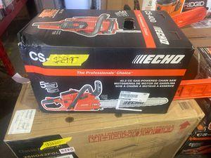 ECHO 18 in. 40.2 cc Gas 2-Stroke Cycle Chainsaw for Sale in Phoenix, AZ
