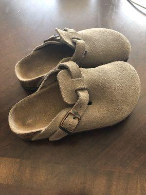 Kids Tan Suede Birkenstock Sandal for Sale in Centennial, CO