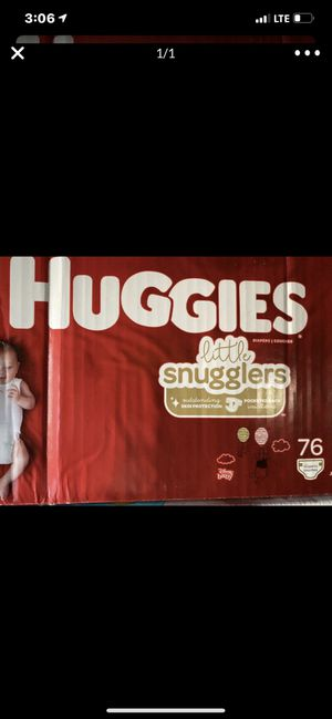 Huggies diapers size one for Sale in Arlington Heights, IL