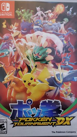 Nintendo Switch Pokemon Tournament DX for Sale in Santa Ana, CA