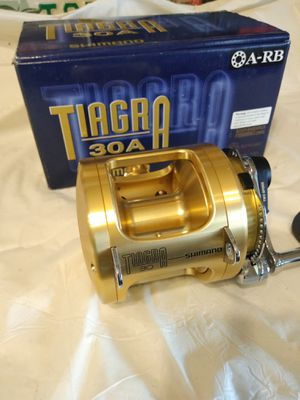 New Shimano tiagra 30A reel....Cash or trade for Sale in Pembroke Pines, FL