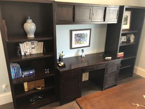 Desk with Book Shelves for Sale in Fort Lauderdale, FL