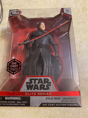 Star Wars elite series diecast Kylo Ren unmasked for Sale in Gambrills, MD
