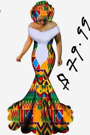 African wedding and prom dress for Sale in Silver Spring, MD