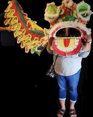 Rare vintage Chinese new year dragon head for Sale in Norfolk, VA