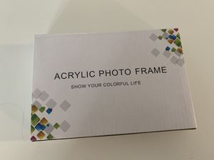 Acrylic Photo Frame 4x6 inch (Just One) for Sale in Pacific Grove, CA