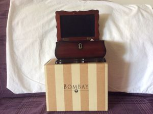 Mahogany jewelry box from Bombay company for Sale in Glendale, CA
