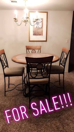Kitchen table sits up high for Sale in Tulsa, OK
